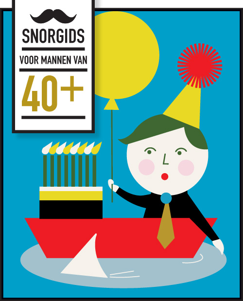Snor-guide: 40 something for men