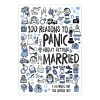 100 reasons to Panic Journals About Getting Married